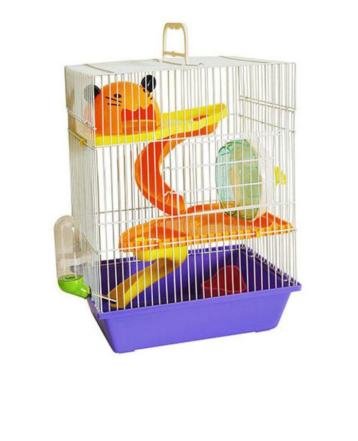A Gaiola para Hamster Pet Funny com Tubo e Roda é confortável, com segurança e ótimo espaço interno e um produto com qualidade e acabamento impecáveis, que garanta segurança necessária para acomodar seu pequeno pet.