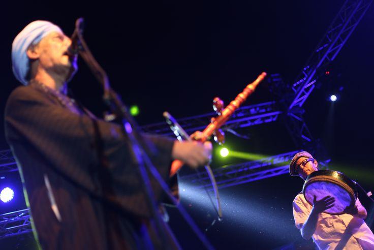 Sur scène avec Salama Metwally et Jérôme Ettinger © Benjamin Favier
