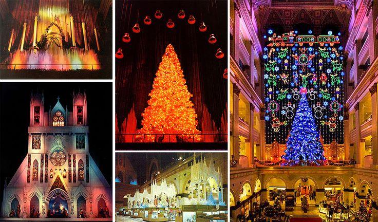 John Wanamaker Building Philadelphia at Christmas