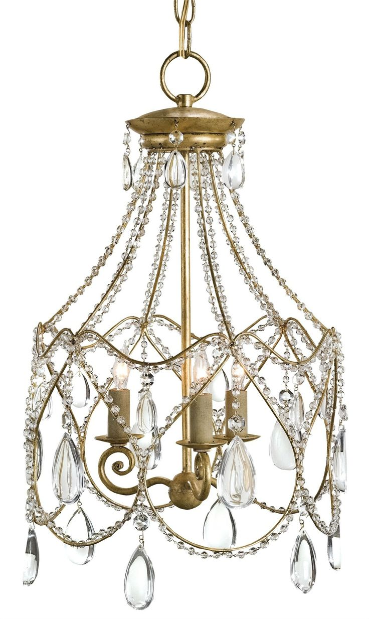 Wildwood brass and crystal beads buffet - Eloise Chandelier In Iron And Crystal Chandelier Lighting Curreyco