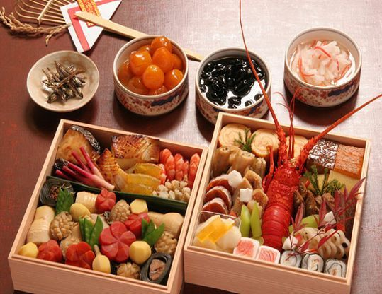 Osechi - traditional Japanese New Year Foods