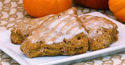 pumpkin-scones: Recipes Breakfast, Breakfast Brunch Ideas, Pumpkin, Food, Scones, Fall Halloween, Breads, Favorite Recipes, Fall Christmas Recipes