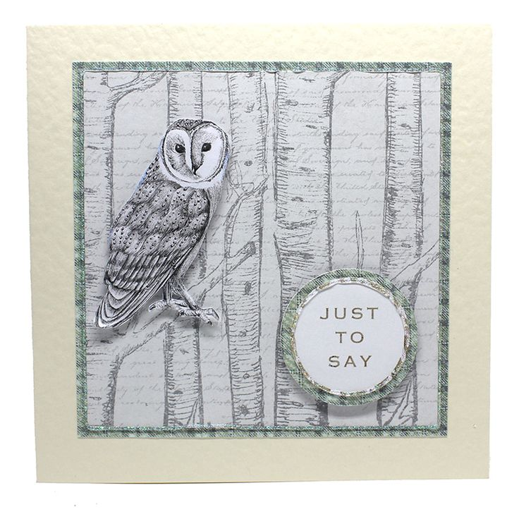 Card made by Neil Burley using Enchanted Forest collection by Craftwork Cards