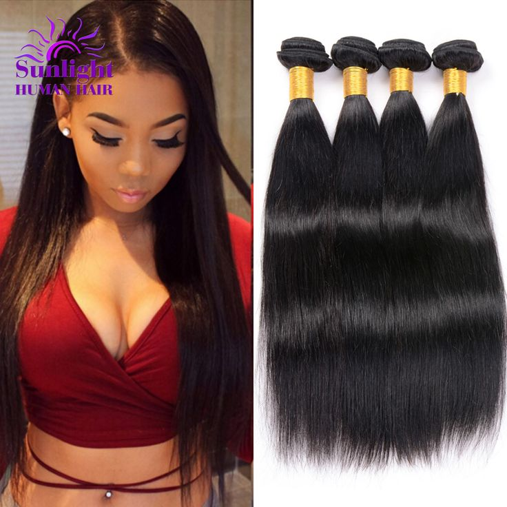 Malaysian Straight Hair 4 Bundle Deals Unprocessed Malaysian Straight Virgin Hair Cheap Human Hair Extensions