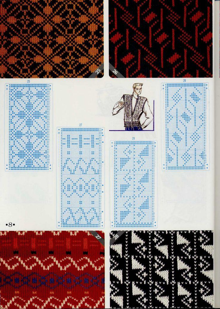J&C Criacoes & Artes: cartelas trico a maquina                                                                                                                                                                                 Mais