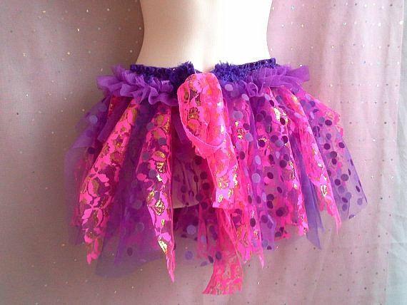 BURNING MAN TUTU woman's festival skirt by SwirlnTwirlGirl on Etsy