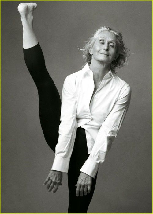young or old, dancers are beautiful