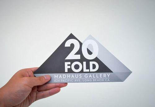 20 FOLD Flyer