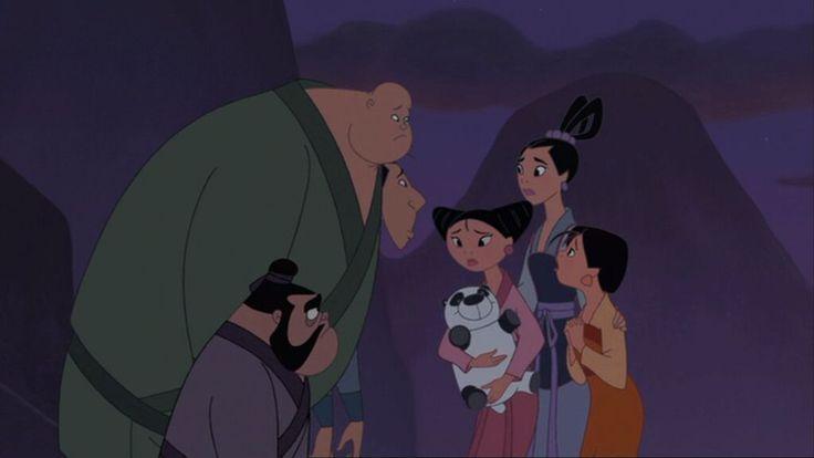 *YAO, CHIEN-PO, LING, PRINCESSES: MEI, TING TING & SU ~ Mulan, 2004
