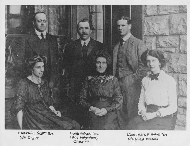 Captain & Mrs Scott and others in British Antarctic Expedition 1910-1912 (Terra Nova) at Dundee Heritage Trust