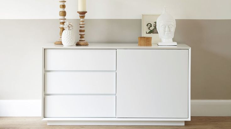 Designer White High Gloss Sideboard | UK Exclusive