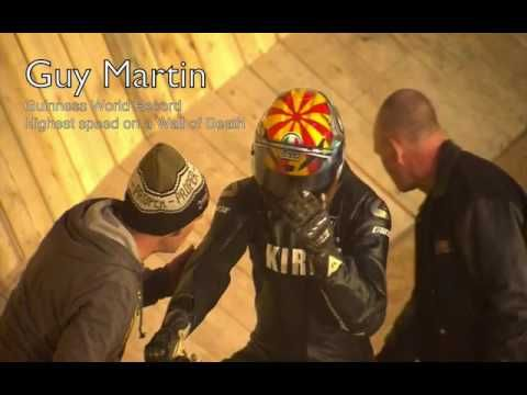Guy Martin Wall of Death Record