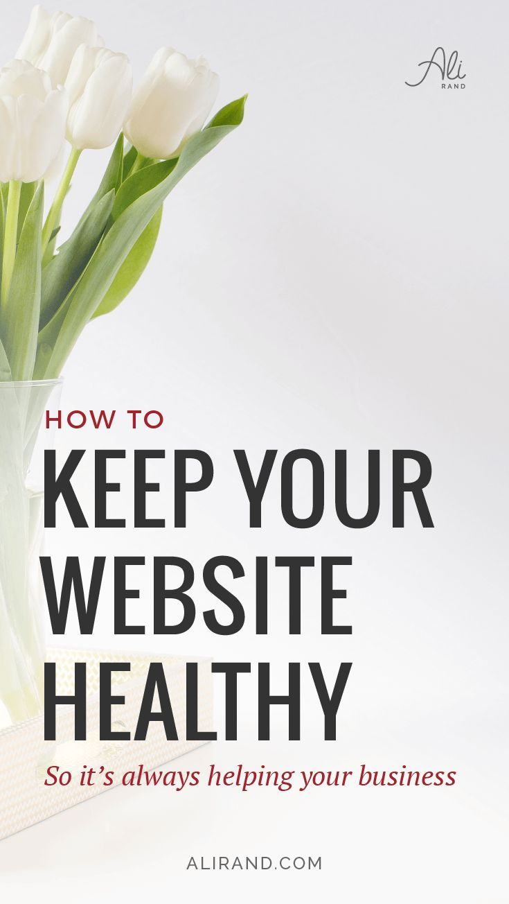 """Want to keep your website safe and healthy but aren't sure HOW to do it? You aren't 100% sure if your site has malware or if it's been hacked, and you can't risk losing all your hard work and money? In my latest post, I walk you through how to find out how """"Healthy"""" your website actually is and what you need to do to make sure it stays that way! Get peace of mind here: https://alirand.com/healthy-clean-website/"""