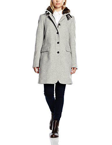 CINQUE Damen Mantel CIASTRAL Gr. 40 Grau (hellgrau 92)