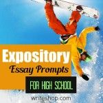 Expository essay prompts for high school