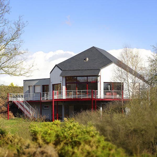1000 id es propos de constructeur maison bretagne sur for Constructeur de maison en bois suisse