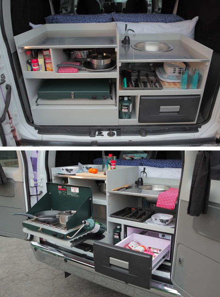 Campervan Alfresco Pilot Kitchen Great For Party Time Camper Vans