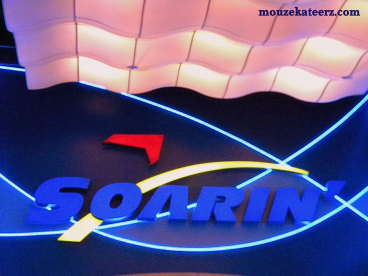 Epcot Soarin'- make sure u do not miss this ride. Do it as soon as u get into the park, in the morning or get fastpass.