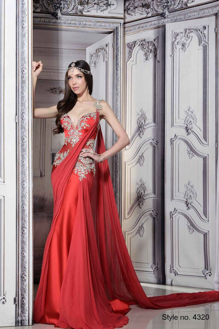 112 best indian red bridal images on pinterest india for Indian wedding dresses new york