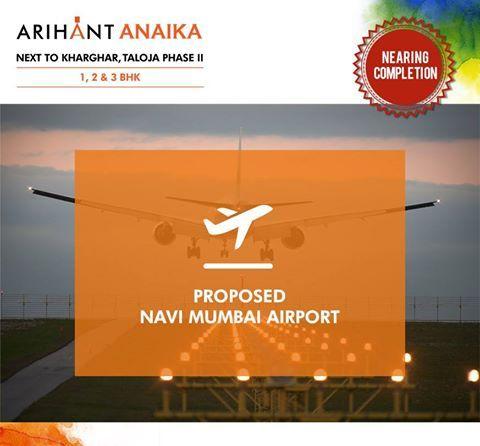 Arihant Anaika - Affordable housing in half the price of Kharghar Next to Kharghar, Taloja Phase II 1,2 & 3 BHK - Riverside County Proposed Navi Mumbai Airport www.asl.net.in/arihant-anaika.html #ArihantAnaika #RealEstate #Kharghar #NaviMumbai #Property