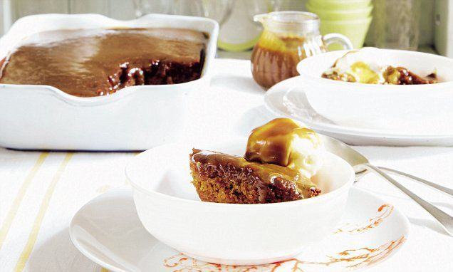 An everyday classic that always goes down well. I like to serve a large, family-sized version of the pudding and spoon or cut it into squares to serve.