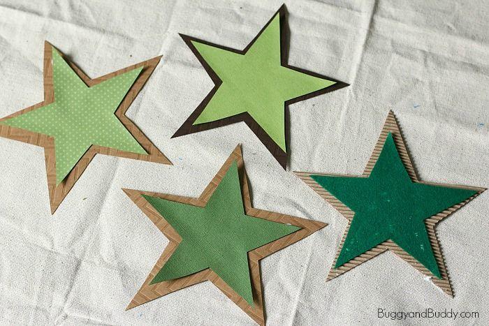 glue the stars together