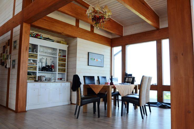 Интерьер фахверка# lidwood.com.ua # Half-timbered houses Interior