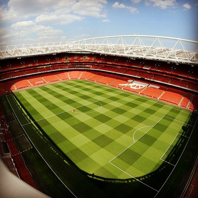 The Emirates, London. Home of Arsenal FC.