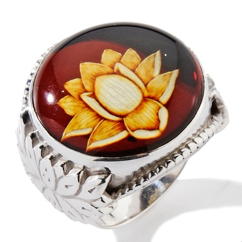 amber lotus flower and silver ring: Golden Amber Honey Colors, Flowers Jewelry, Lotus Flowers, Extended Jewelry, Lotus Rings, Amber Lotus, Amber Jewelry, Silver Rings, Given Names