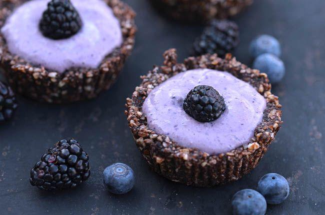 No bake gluten and sugar free breakfast cakes