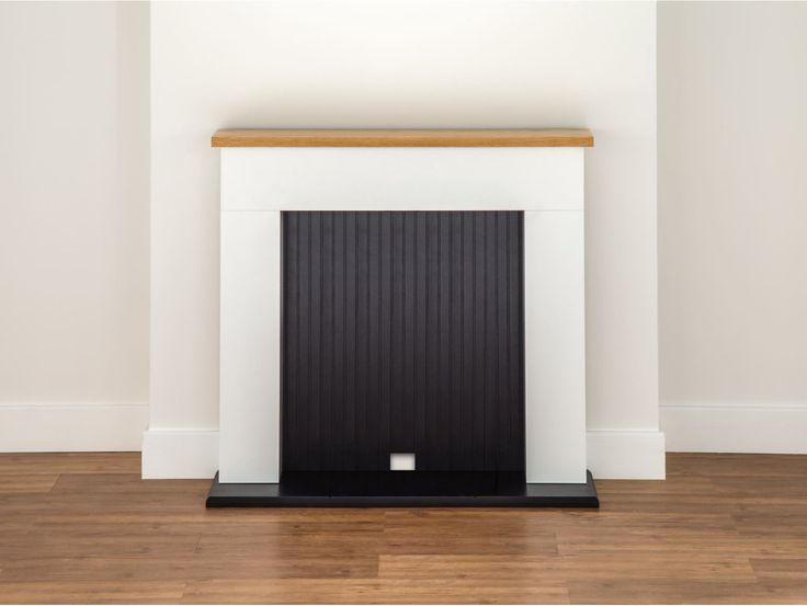 Adam Innsbruck Stove Fireplace in Pure White, 48 Inch | Fireplace World