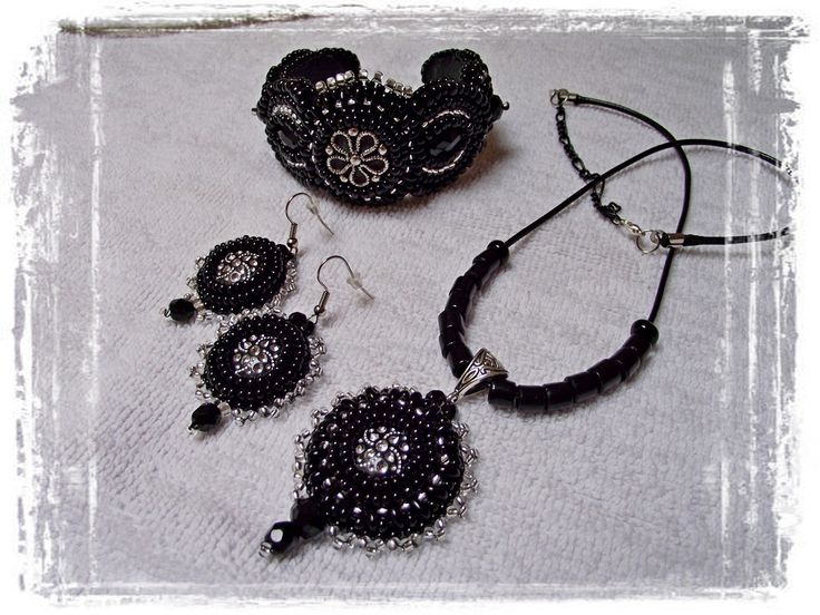 Black &silver set
