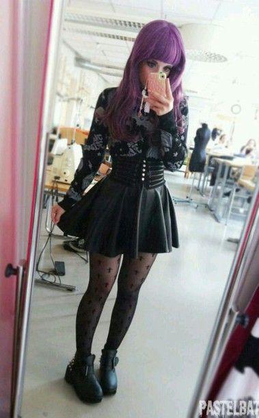 Skirt Alternative Pastel Goth Goth Grunge