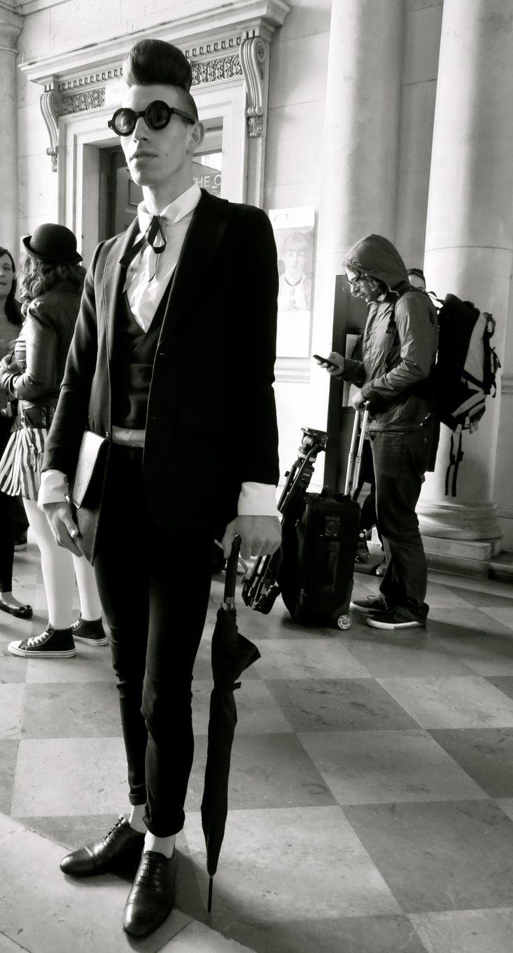 Gentleman in #blackandwhite