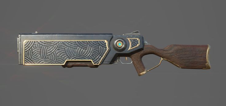 ArtStation - Repeater Rifle, Tim Kaminski