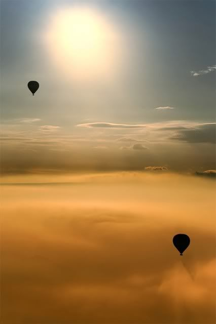 two balloons . .