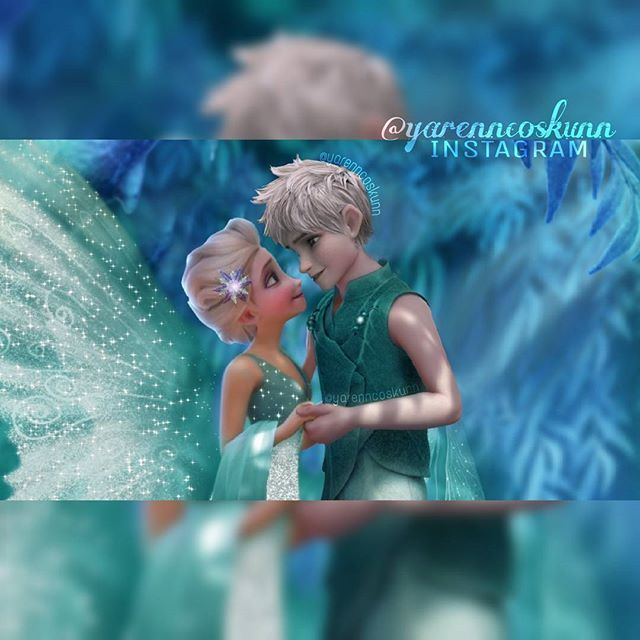 Elsa as Queen Clarion and Jack as Lord Milori