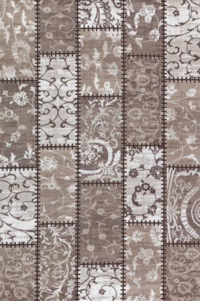 Patika Goya 9917A Kahve patchwork hali modelleri