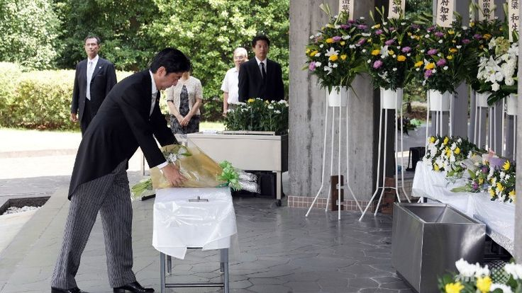 Japan PM speech skips reference to WWII remorse - http://www.warhistoryonline.com/war-articles/japan-pm-speech-skips-reference-wwii-remorse.html