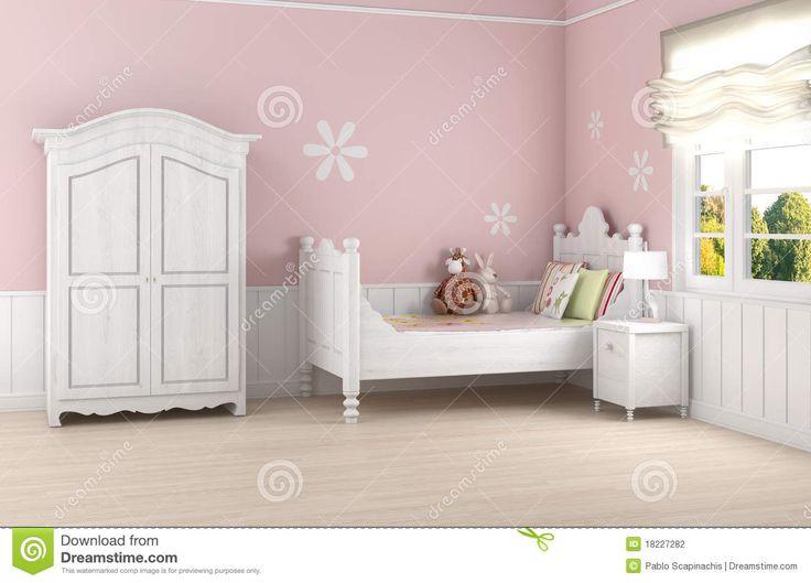 de-slaapkamer-van-het-roze-meisje-18227282.jpg (1300×935)
