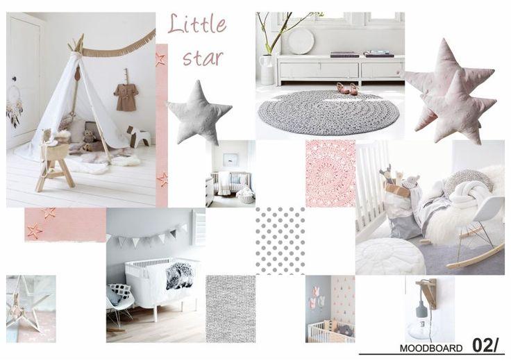 Woonmakers_ Babykamer_ Interieurontwerp_ Little star_ Moodboard