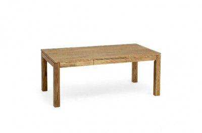 Cacao sofabord oiled oak sofa table wodden drawer swedish design torkelsson. www.helsetmobler.no