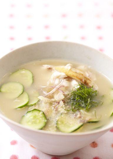 冷や汁は宮崎県の郷土料理。<br>冷やご飯やうどん、そうめんにかけるとおいしい!