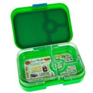 Yumbox bento lunch box - panino pomme green