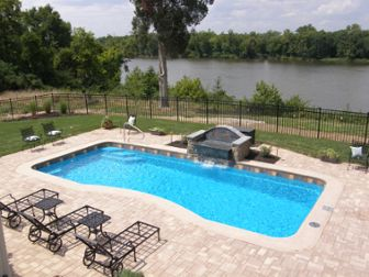 Want To Learn More About Fiberglass Pool Patio Options? Compare Concrete,  Pavers, Stone, And.
