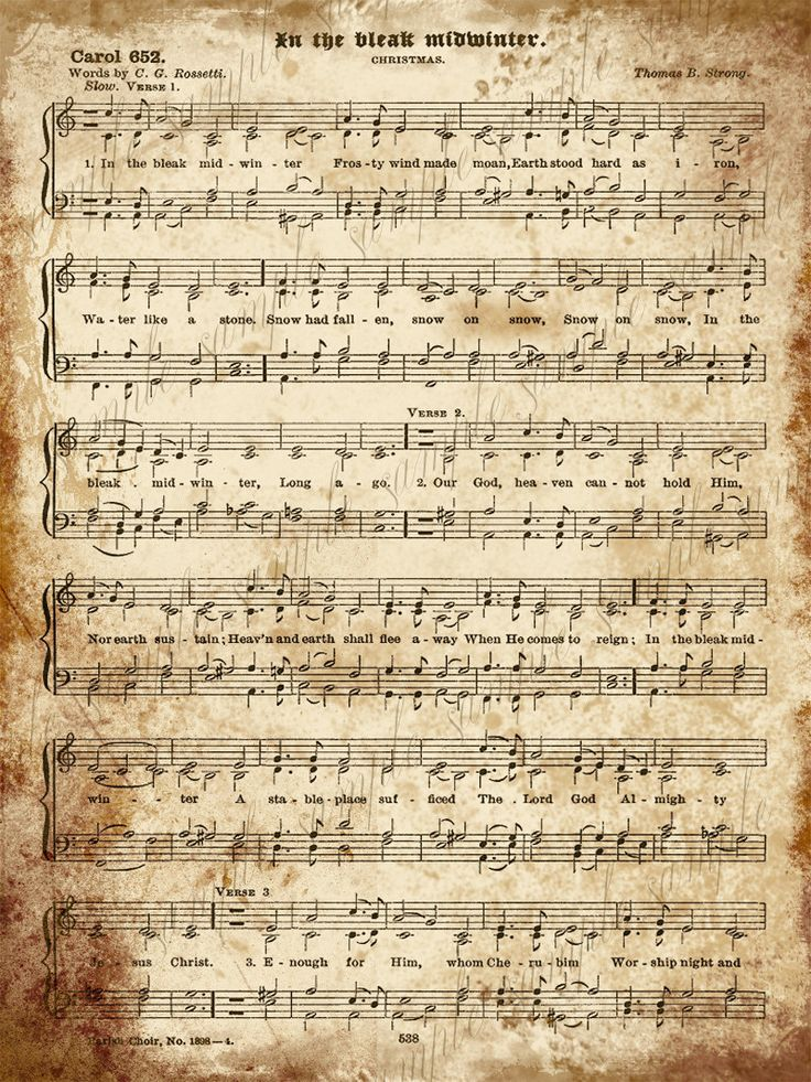 48 best Sheet music images on Pinterest | Vintage christmas ...