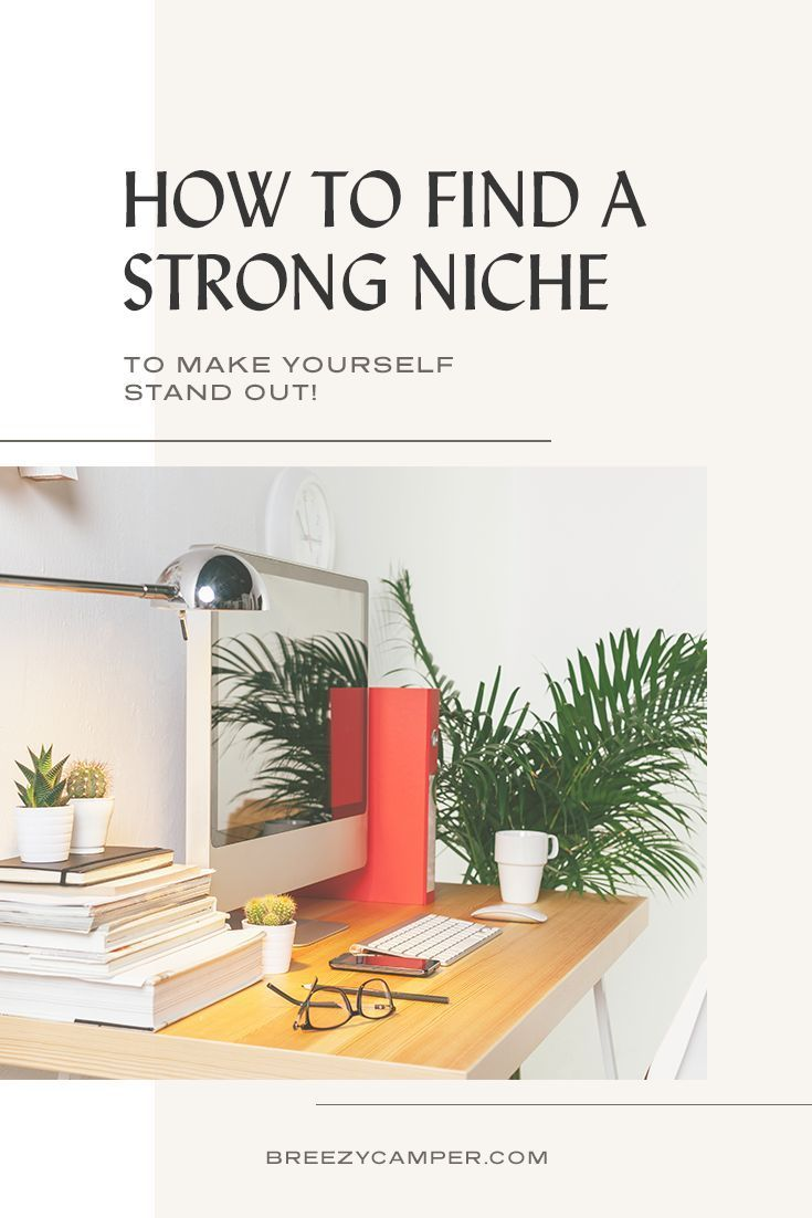 How To Find A Niche Market For Your Creative Business Unique