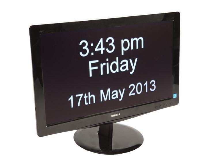 reloj de tiempo nuestros productos demencia constante orientation clock ward orientation reassuring source residential home design communal areas