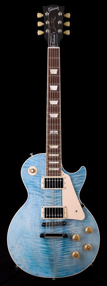 Gibson Les Paul Traditional in Faded Denim