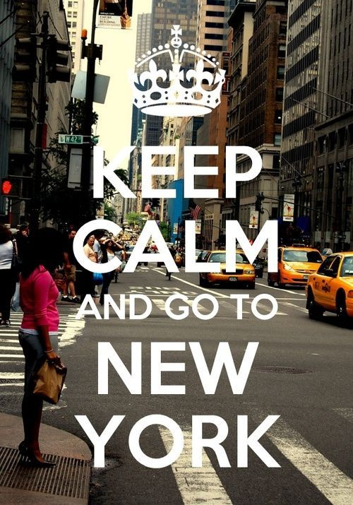 Keep calm and go to New-York ! Version Voyages, www.versionvoyages.fr